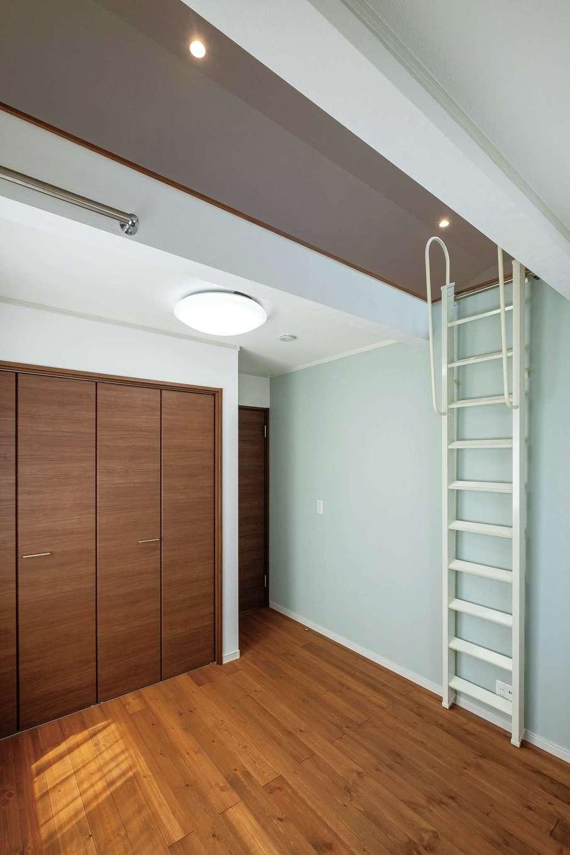 ハウテックス【1000万円台、省エネ、間取り】ロフト付きの2階洋室