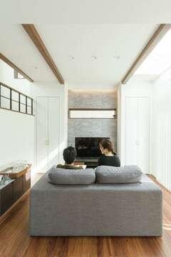 半地下の趣味部屋や中2階。空間も夢も広がる住まい