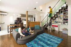 趣味も暮らしもワクワク、土間空間が楽しいスマートな家