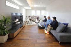 程良い距離感とゆとりの広さが心地いい二世帯住宅