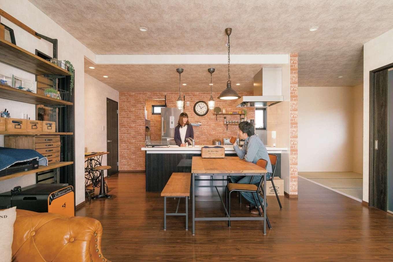 うれしいコスパで叶えた、インダストリアルスタイルの高品質住宅