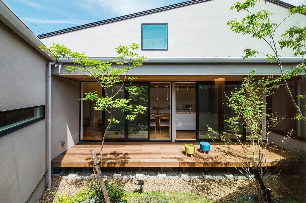 モデルハウス公開中!『五感を大切にした中庭のある家』