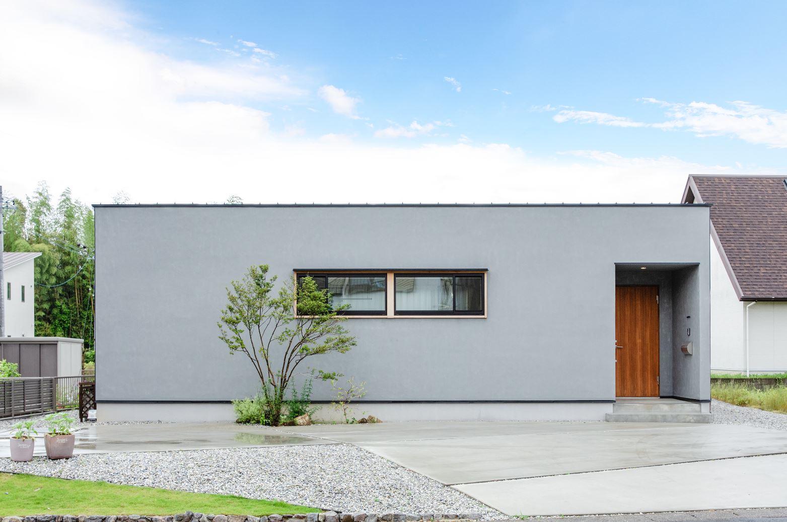 S.CONNECT(エスコネクト)【デザイン住宅、間取り、平屋】実家がマンションで、階段の無い生活が当たり前だったこともあり、計画当初から平屋を希望していた