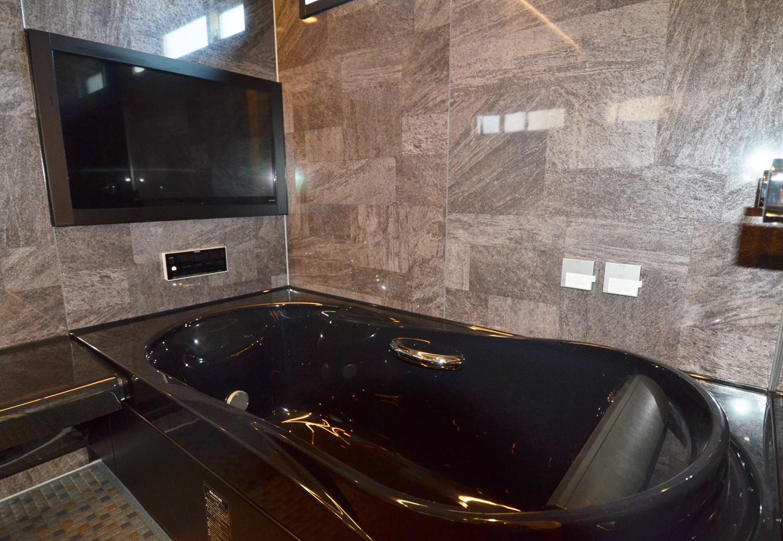 ティアラホームスタイル【1000万円台、デザイン住宅、省エネ】浴室は一般的な戸建て住宅よりも一回り大きい、1.25帖タイプを実現