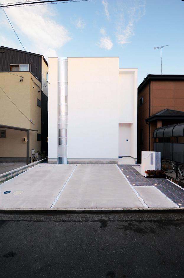 思い描いたライフスタイルを実現した、都市型ハウス!