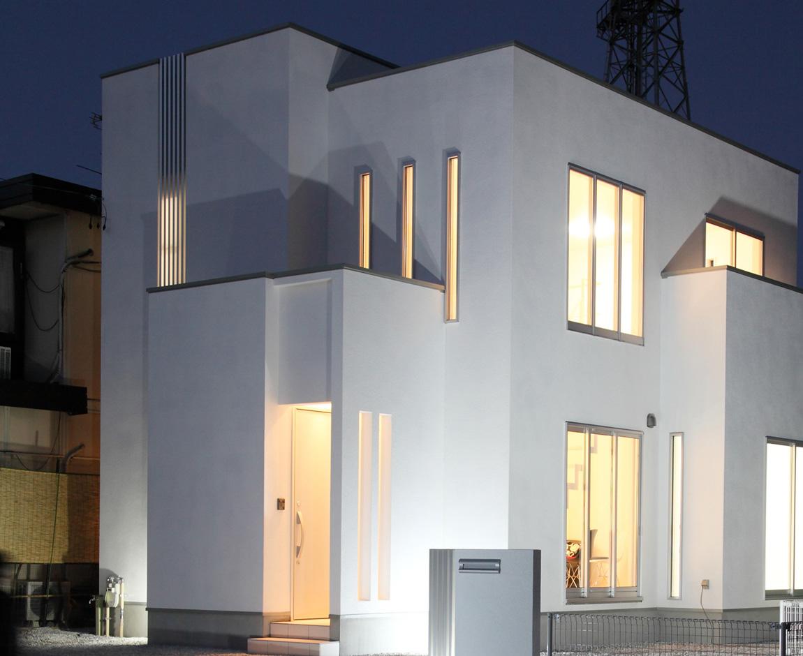 家族の成長で間取りも変わる、デザイナーズハウス