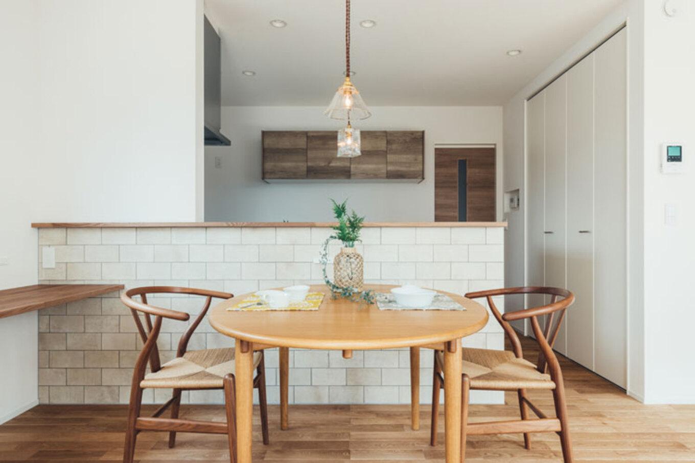 ienowa【デザイン住宅、間取り、インテリア】土間と塗り壁の融合