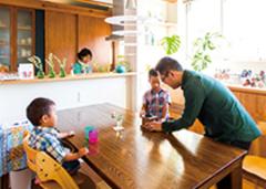プライバシーを確保しつつ光と風を招き入れた ホームシアターのある30坪の家