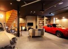 楽しく暮らせるリビングガレージの家
