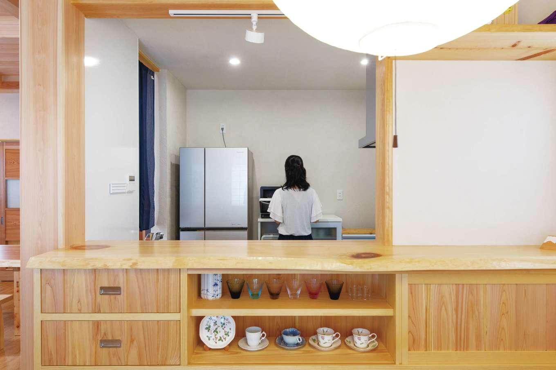 藤田工務店【和風、自然素材、省エネ】塩素をカットする浄水器を標準仕様で設置。「前と同じお米なのにご飯がおいしくなった」とお二人とも声をそろえる