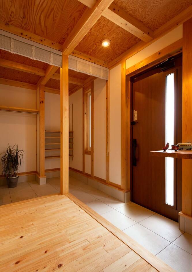 """サイエンスホーム山梨【甲府市中町3-15・モデルハウス】サイエンスホームの住まいは、「新旧の技術」を組み合わせた""""懐かしい""""のに新しい住まい"""