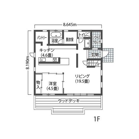 """富士ホームズデザイン 取っ手一つ、窓枠カラーまで""""好き""""でできた家は楽しい! 1F"""