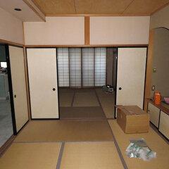 1階リビングに続く二部屋の和室はほとんど使われていなかった