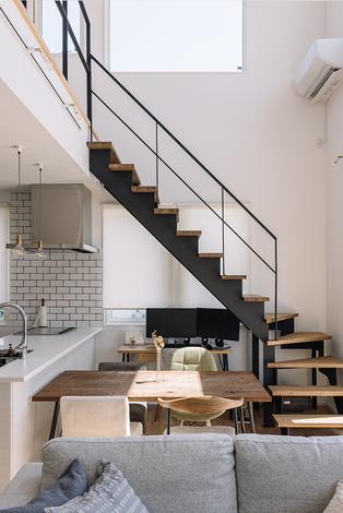 コンパクトで暮らしやすい住まいは、高性能なデザイン住宅