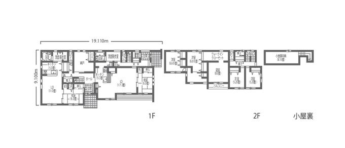 吉川住建 二世帯が程よい距離感で快適に暮らす和モダンの家 完全分離型の二世帯住宅