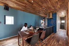 理想のデザインも快適な住み心地も叶えたマイホーム