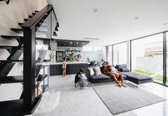愛妻のために建てたデザインと家事ラクを両立した家