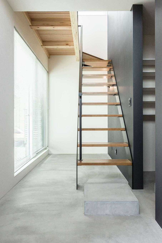 R+house静岡葵・静岡駿河(住宅工房コイズミ)【デザイン住宅、子育て、建築家】くつろぎも収納も叶える土間空間