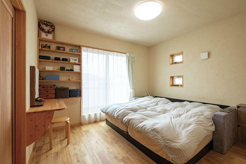 藤田工務店【二世帯住宅、自然素材、間取り】自然素材で毎晩心地よく眠れる