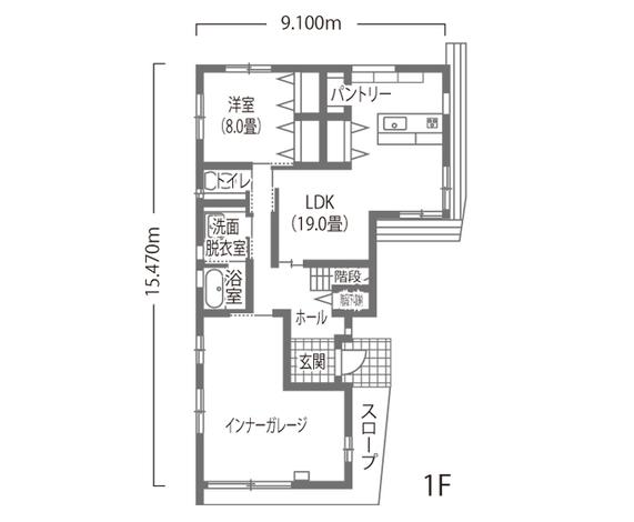 尾崎工務店 世代を超えて暮らしやすいガレージ付きデザイン住宅