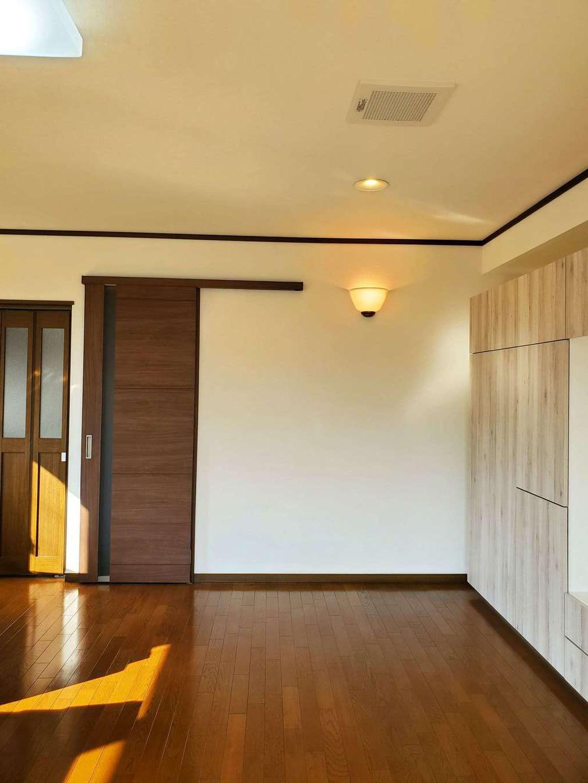 太啓建設 クロスの貼替えのほか、床のワックス掛けや窓ガラスのクリーニングなども行い、家全体をピカピカに