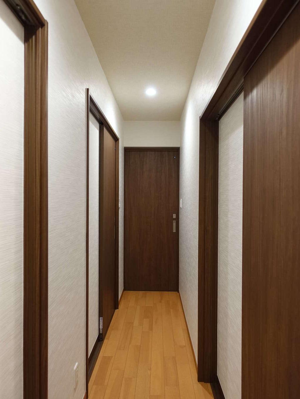 太啓建設|建具一枚で部屋がつながっていた1階に新しく廊下をつくり、暮らしやすいように動線を整理