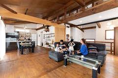「快適を超えるここちよさ」を実感できる自然素材の高性能住宅