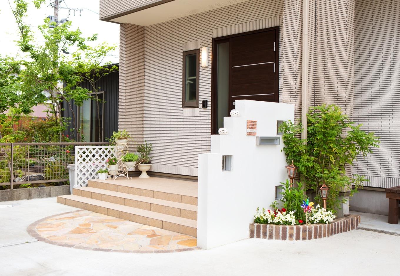 クレバリーホーム浜松東店【子育て、収納力、間取り】可愛らしいポーチも完成