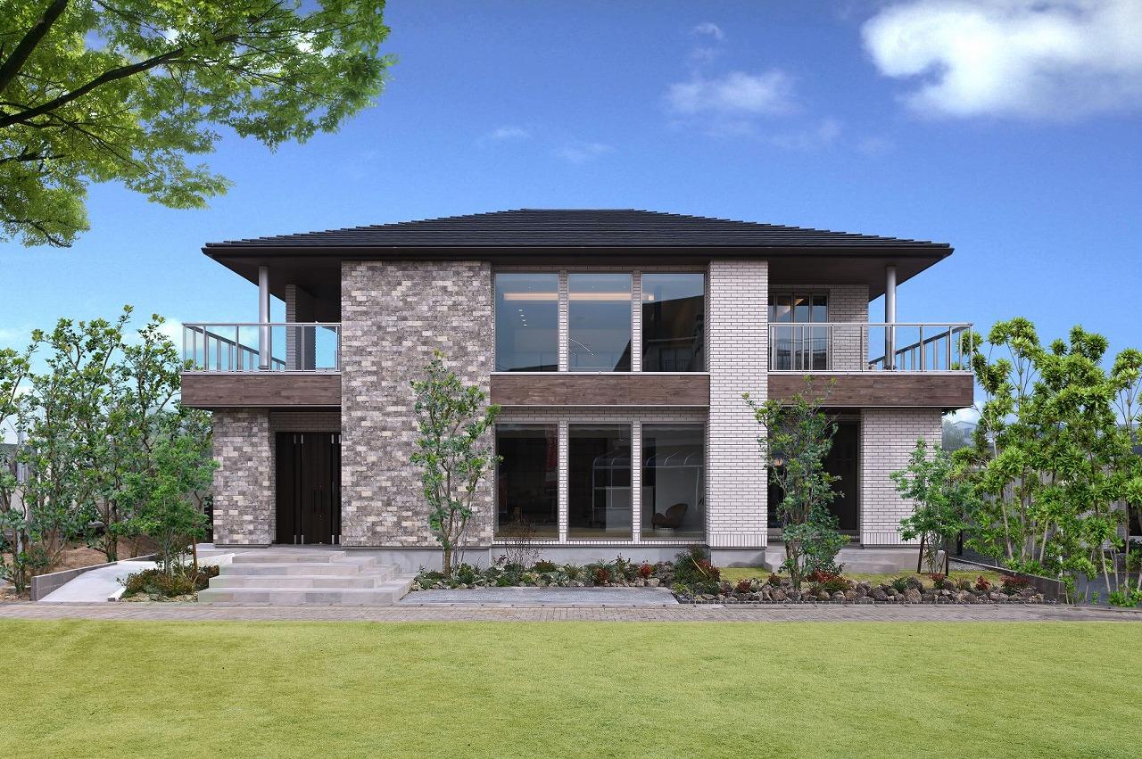 クレバリーホーム浜松東店【浜松市南区南区青屋町400 ・モデルハウス】本物を追求した「Vシリーズ」。住まいの価値をひときわ高める上質なタイルは邸宅の存在感をより高める