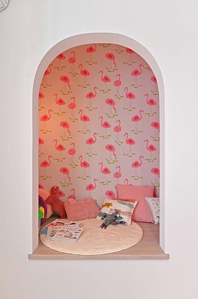 クレバリーホーム浜松東店【浜松市南区南区青屋町400 ・モデルハウス】子供部屋にある「ヌック」はお子様の秘密基地。ワクワクする空間提案も得意