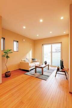 自然素材+パッシブデザインの暖涼の家