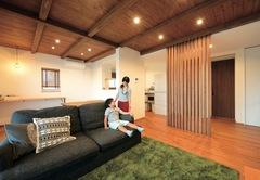 風と光を操るパッシブデザイン! 大きな吹き抜け空間のある家