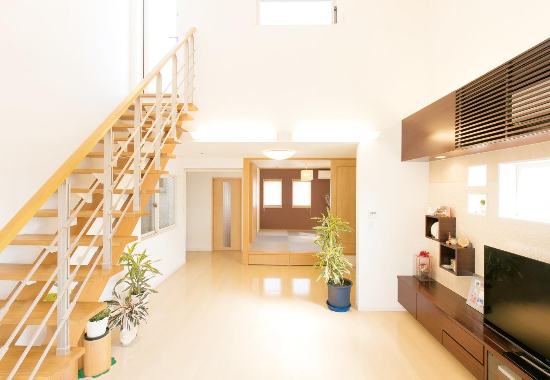 一つの家としての統一感と個性を重視したデザインに
