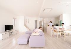 地震に強い頑強構造と上質なデザインを兼ね備えた家