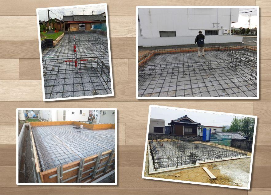 ソーラーホーム(株)の家づくり・・・ 始まりは、基礎工事から・・・