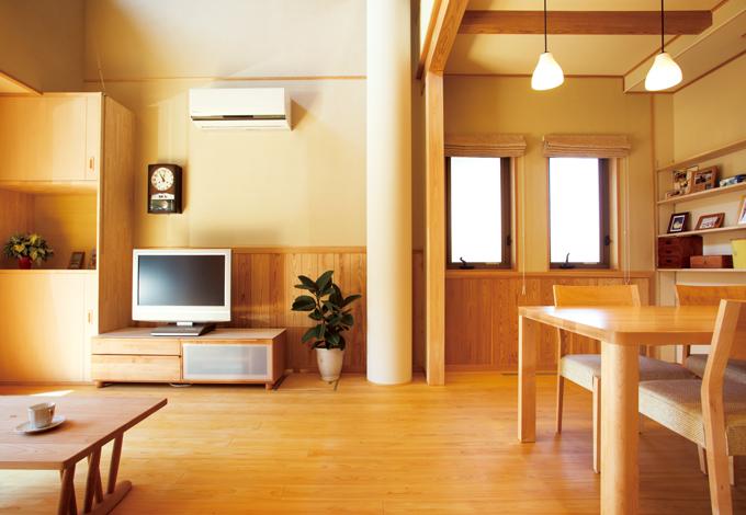 ソーラーホーム/OMソーラーの家【自然素材、省エネ、間取り】適材適所の収納など暮らしに寄り添う設計