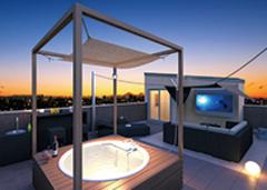 人生を2倍楽しめる! 屋上庭園のあるデザイン住宅