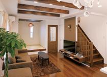 デザインも動線もお気に入り ママの夢を叶えた南欧風の家