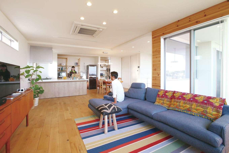 片桐建設【1000万円台、デザイン住宅、趣味】ハイセンスな空間に会話が弾む