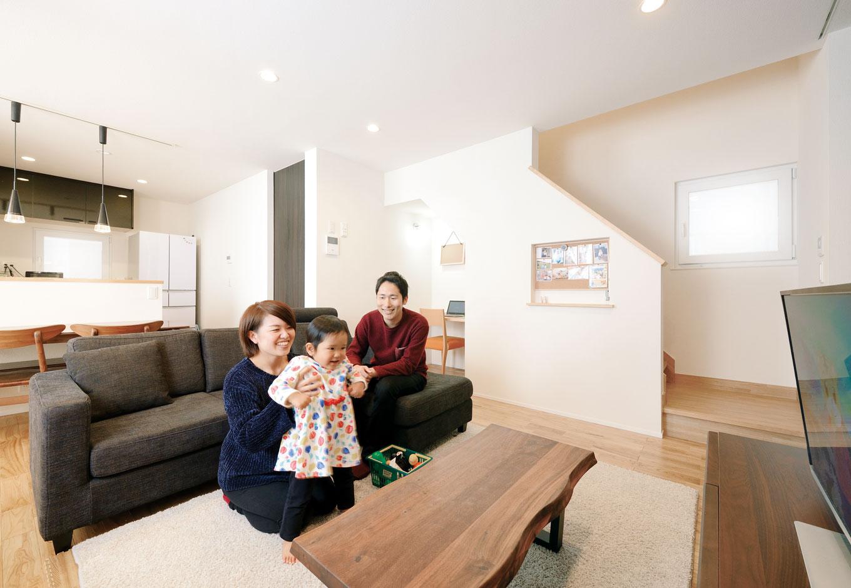 家中温度差のない幸せ。やがて子どもを守る家