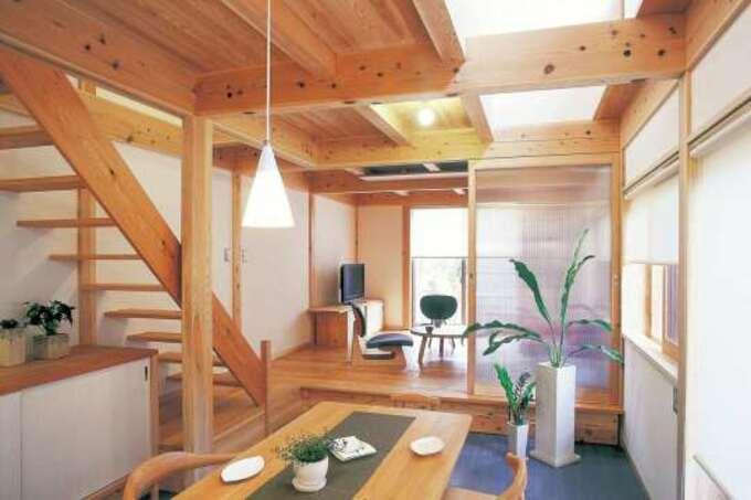 良質な国産材をふんだんに使用。自然を身近に暮らす「木の家」