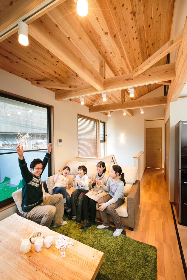 理想の間取りと設計技術で 家族が快適な住まいを実現