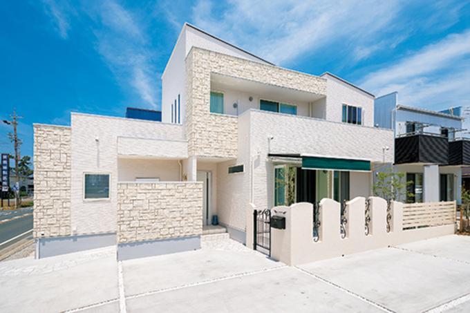施主さんの要望を叶える完全自由設計の家