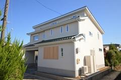 北玄関の完全分離型の2世帯住宅見学会