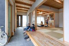 子どもたちが健やかに育つ自然素材&土間のある家