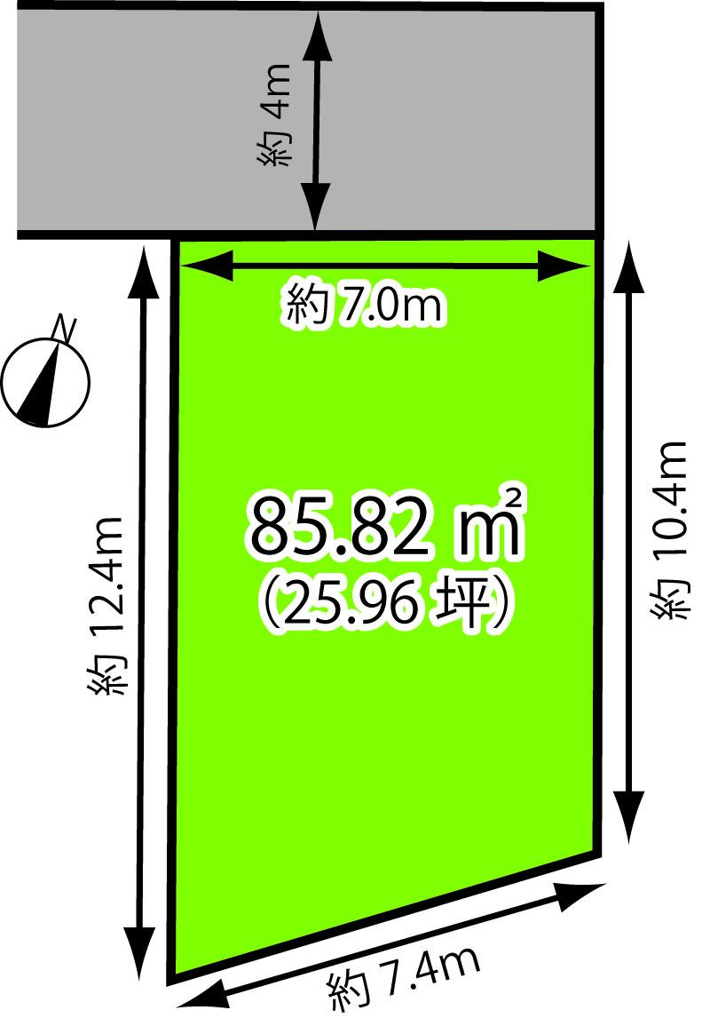 4/29(日)丸子新田:土地 オープンランド