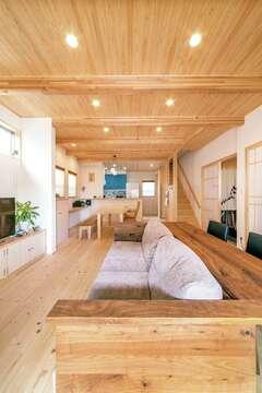 「豊かな暮らしとは」という想いが詰まったヒノキの家