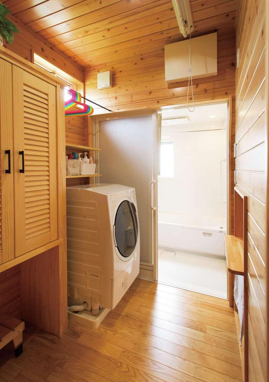 タツミハウジング【子育て、収納力、間取り】キッチンの裏側に水回りを集約して家事動線を短縮