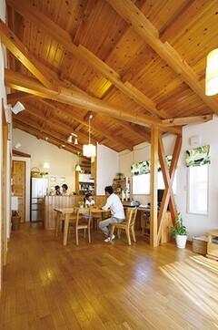地熱の恵みを活かした年中快適な省エネ住宅
