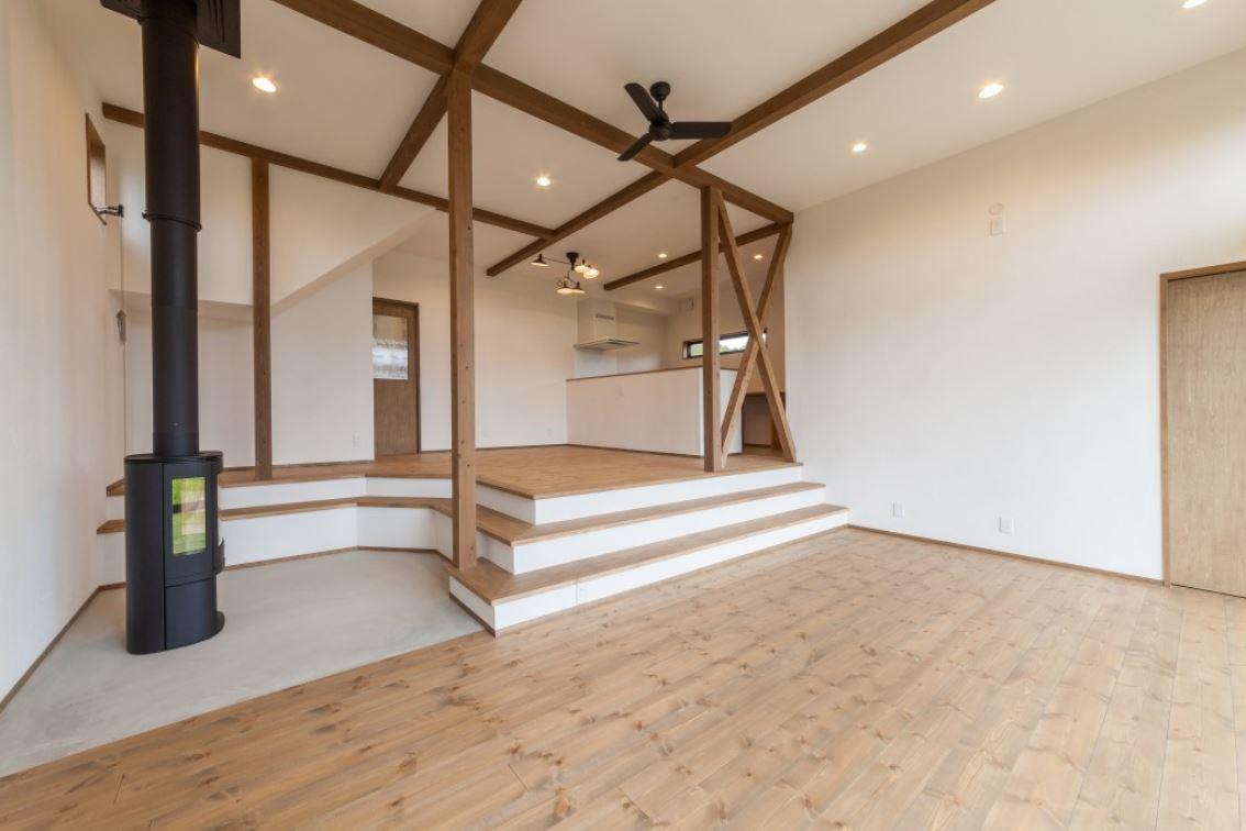【完成見学会】「展望バルコニーと薪ストーブのある家」@豊橋市大岩町